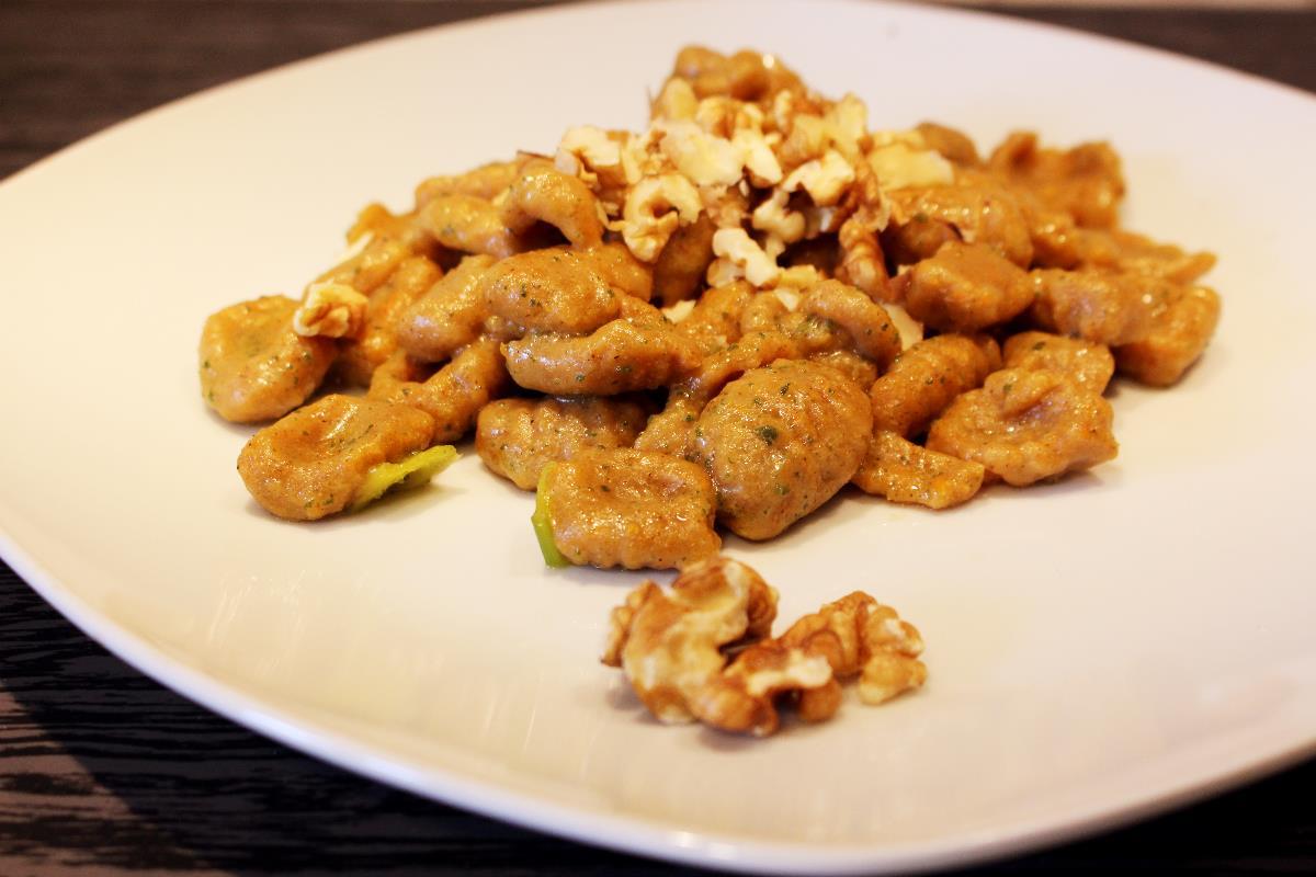 Ricetta Gnocchi Di Zucca Con Farina Di Quinoa.Gnocchi Di Zucca E Grano Saraceno Farine Speciali